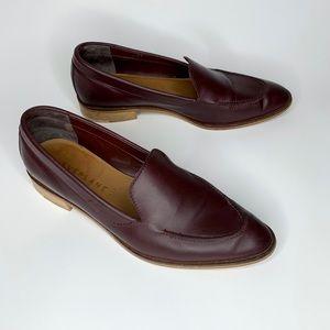 Everlane The Modern Loafer burgundy size 8